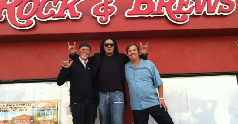 Gene Simmons and Flavor Flav want to serve you