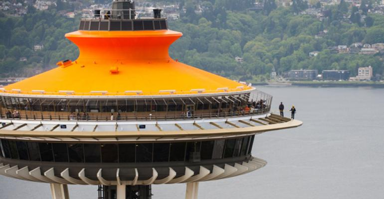 Food revolution: Seattle's Space Needle celebrates 50 years