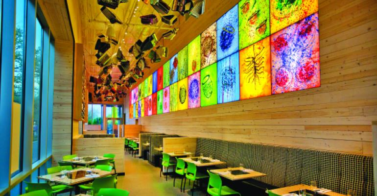 Art is everywhere at Seattle39s Collections Cafeacute