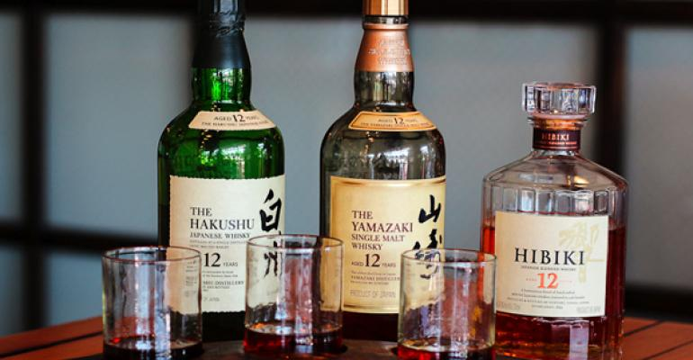 Plan Check Kitchen  Bar in Los Angeles offers Japanese whiskey flights for 20 to 80
