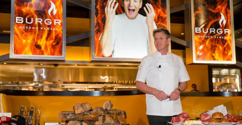 Gordon Ramsay cashes in on the burger boom