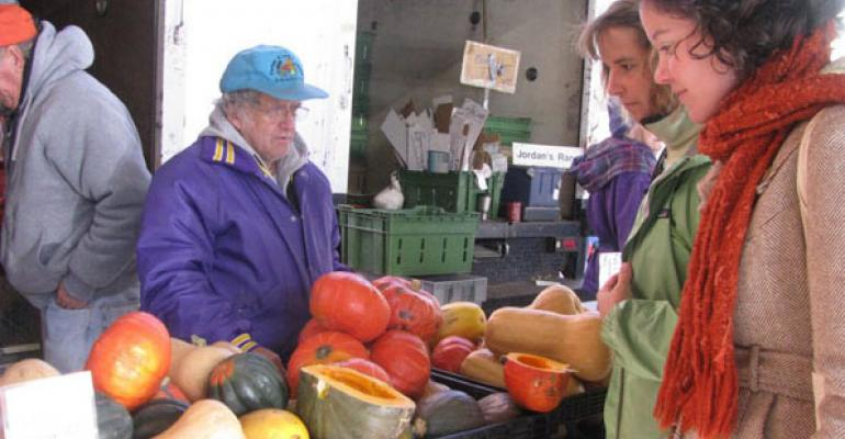 Locally grown food now having national impact