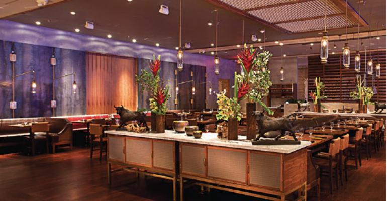 InterContintental Miami wanted a sexy restaurant in its lobby Richard Sandoval provided one