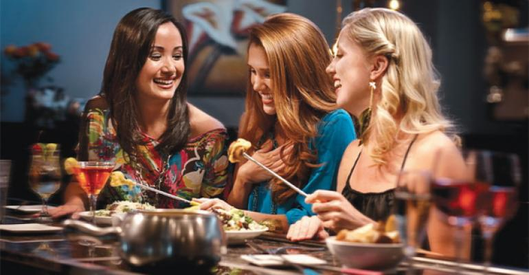 Melting Pot once considered a special occasion choice reinvented itself to attract more frequent visits