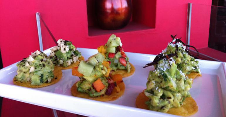 La Sandia restaurant in McLean VA kicks off its third annual Guacamole Festival on May 1