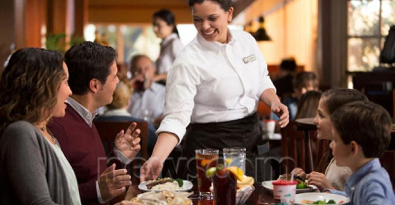 Darden Restaurants Inc Changes Dining Room Sizes Servers