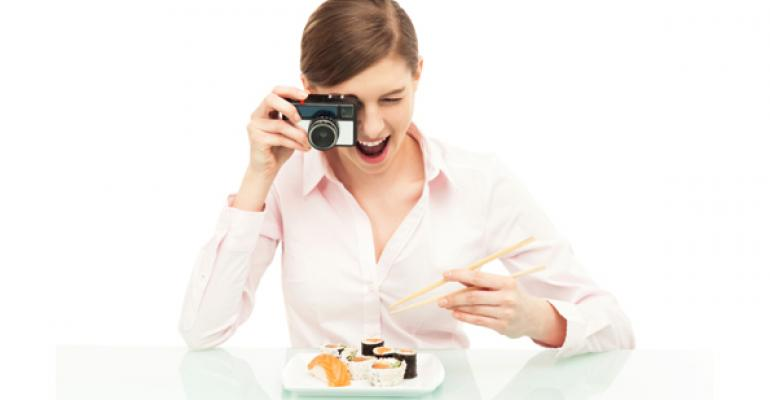 Chew on this: Restaurants encourage snap-happy diners