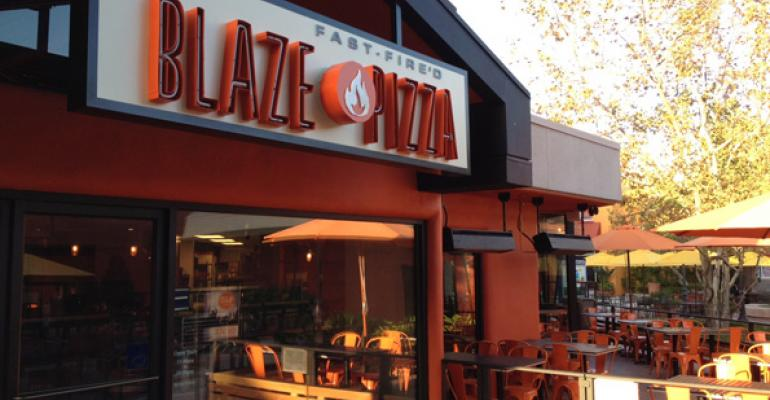 Blaze Pizza39s backers include Maria Shriver and LeBron James