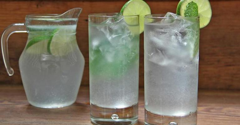 Chicago q39s Limeade is made with Absolut Citron and homemade lime juice