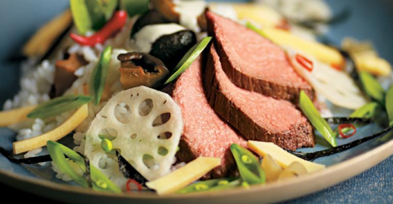 Chirashi Scattered Steak