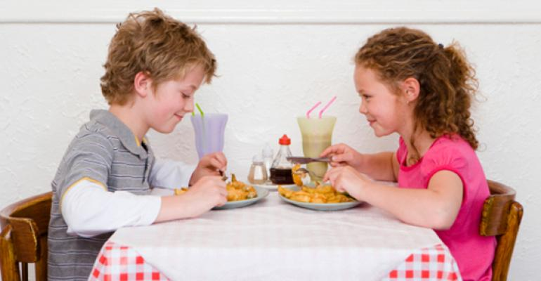 Kids' dining: Time to get on board with babies?