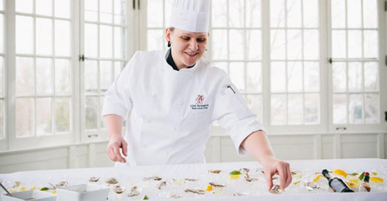 Lisa Aronson was named executive chef of Braxton39s Restaurant amp Bar inside the Algonquin Resort St Andrews ByTheSea in January