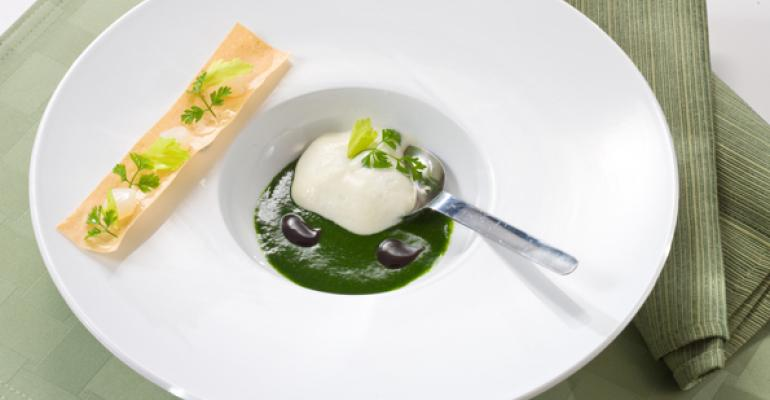 Cod Brandade with Shishito Puree