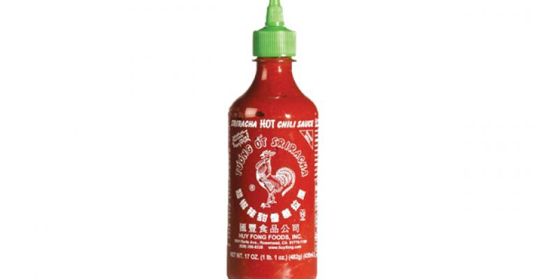 Sriracha ranks as go-to condiment for Millennials