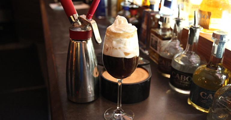 Spanish coffee from The Root Restaurant amp Bar