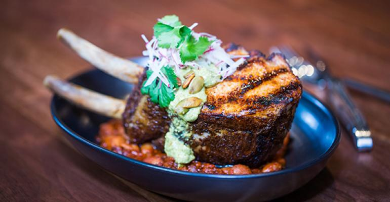 Chile-Rubbed Heritage Pork Chop
