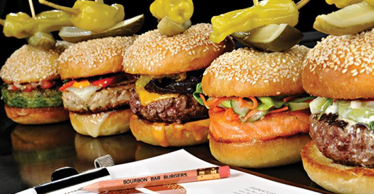 Bourbon Steakrsquos burgers bring in the bar business
