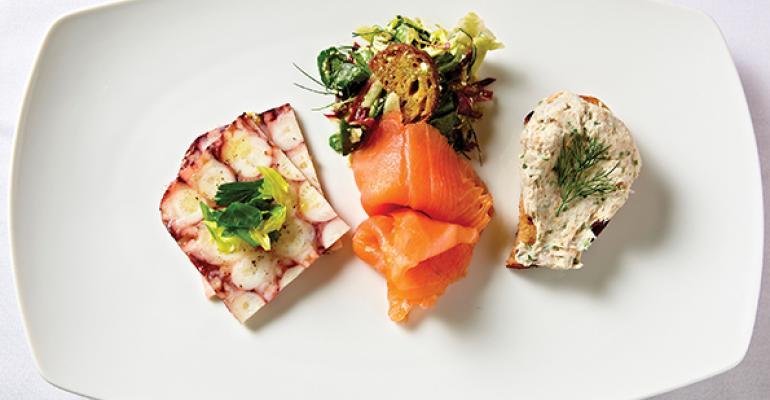 Oceanarsquos seafood charcuterie plate