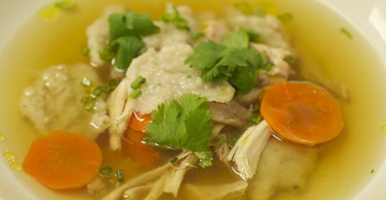 East West Chicken Dumpling Soup