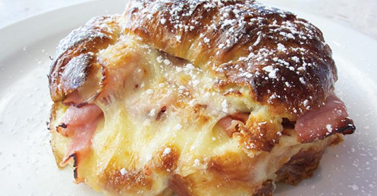 Croissant-E-Cristo Sandwich