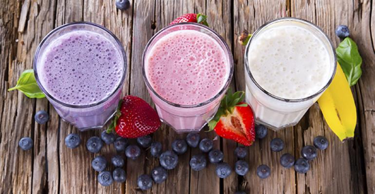 Smoothies spur healthy sales
