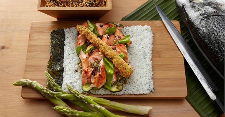 Sushirrito claims to have introduced the original sushi burrito concept