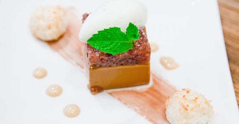 Zengo39s Dulce de Leche cheesecake