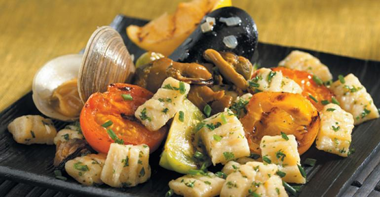 Gnocchi with Mussels and Clams