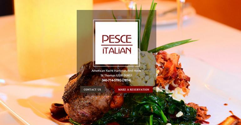 Pesce Italian website