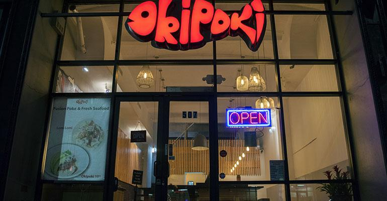 Okipoki restaurant