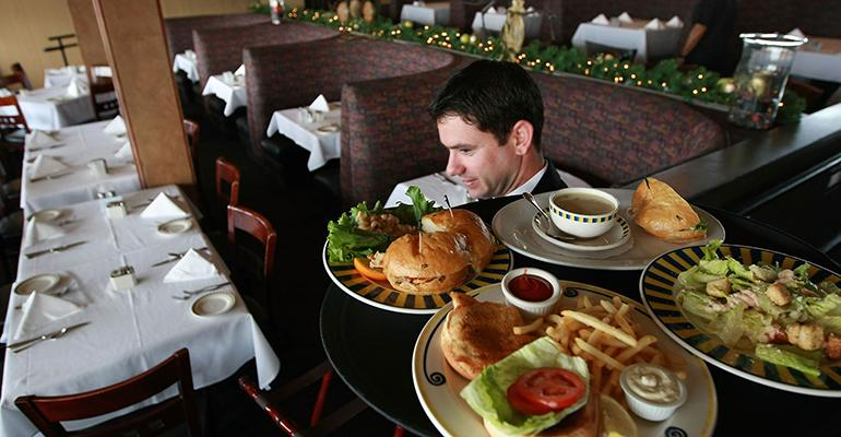 restaurant server