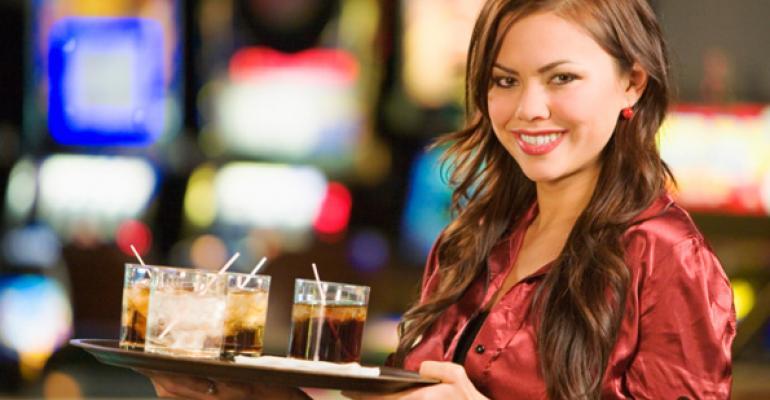 restaurant waitress