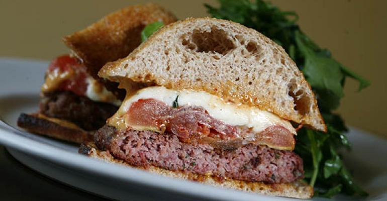 Rioja Colorado lamb burger