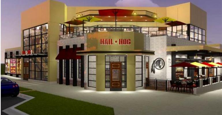 Washington Redskins restaurant