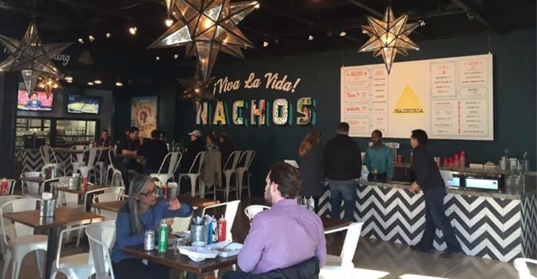 Nachoria restaurant