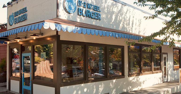 Big Wheel Burger restaurant