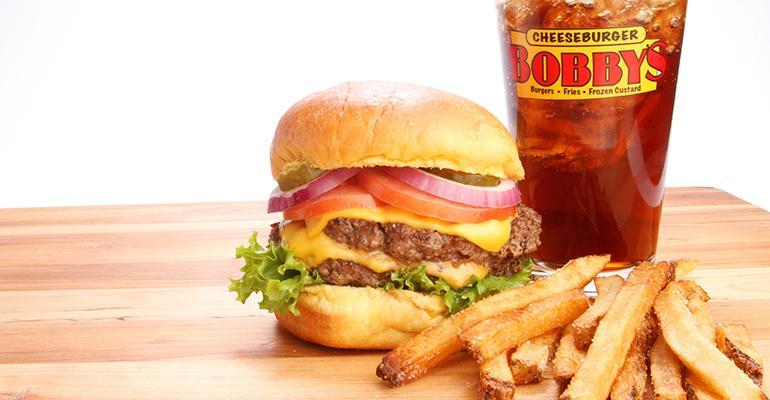 Cheeseburger Bobbys burger