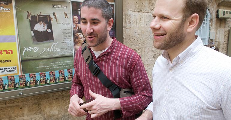 Michael Solomonov and Steven Cook