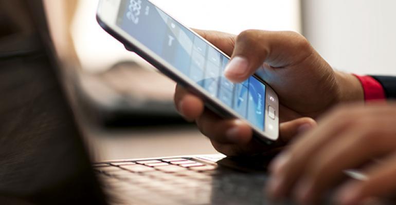 smartphone user