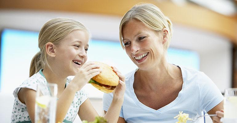 Parents are most interested in finding healthy menu choices according to Mintel research