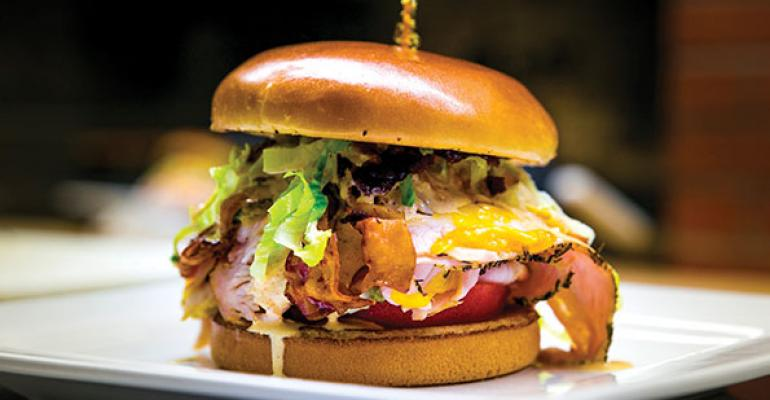 Ladder 133 Sports Bar  Grills Smoked Turkey Sandwich