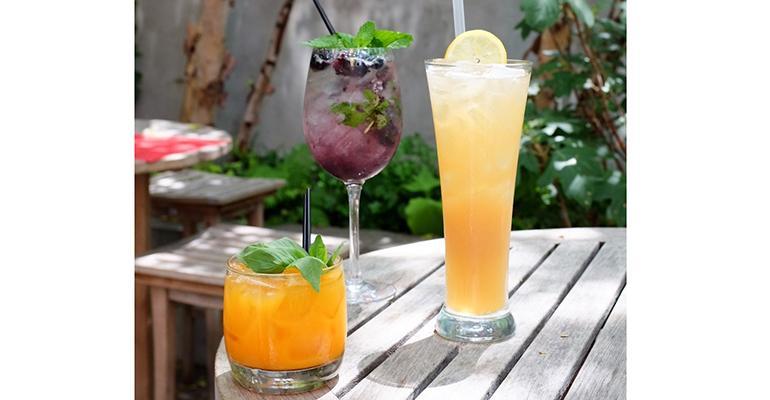 David Burke Kitchen Garden in NYC offers three housemade soft drinks