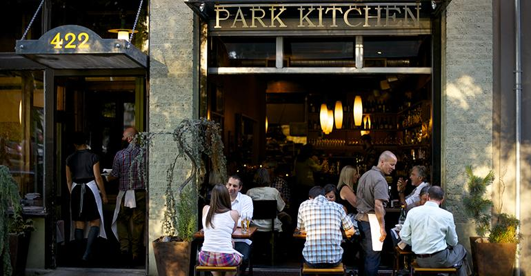 Staffing changes will smooth out the earnings bumps for servers at Park Kitchen