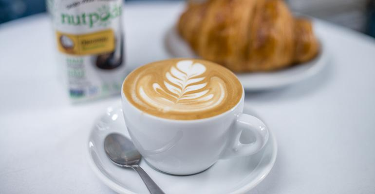 Portola Coffee Labs in Southern California uses premium alternative milks capitalizing on a growing trend in craft coffee