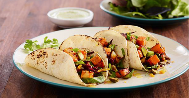 7-Spice Sweet Potato Tacos