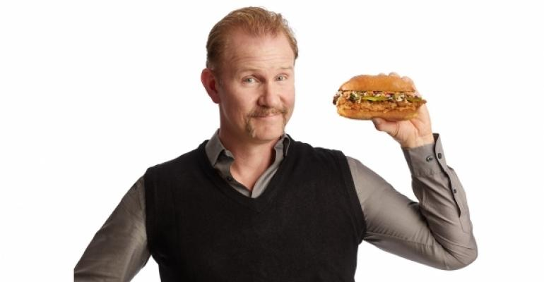Mr. 'Super Size Me,' Morgan Spurlock, testing his own ...