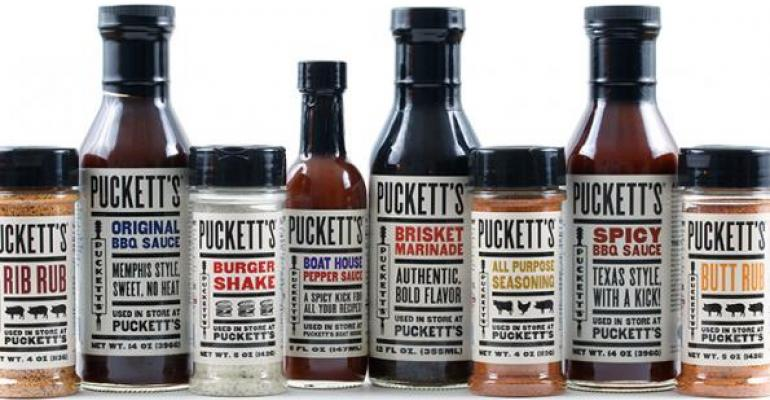 Puckettrsquos Gro amp Restaurant sells its popular its family of spices