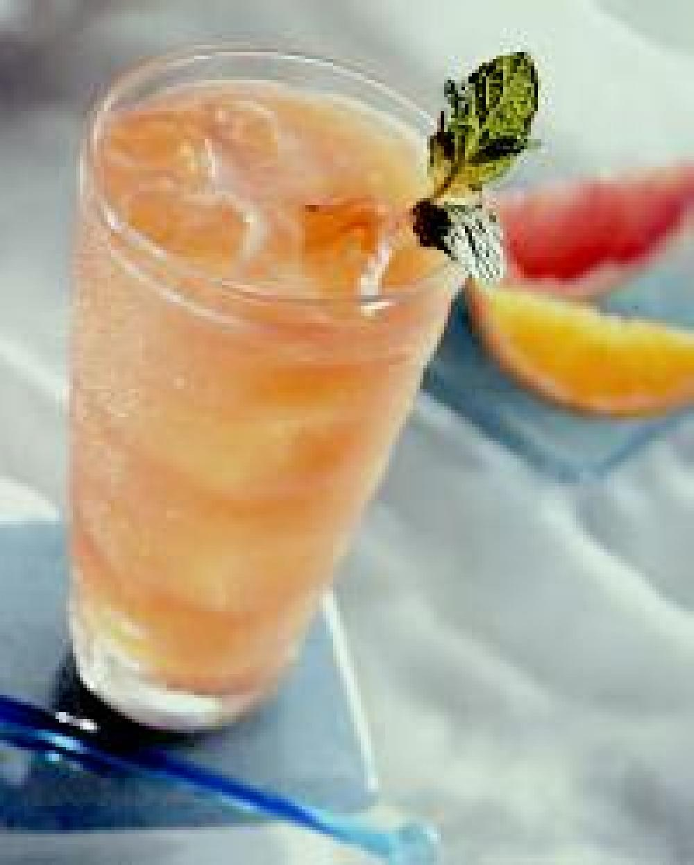 Fresh Grapefruit and Orange Cooler