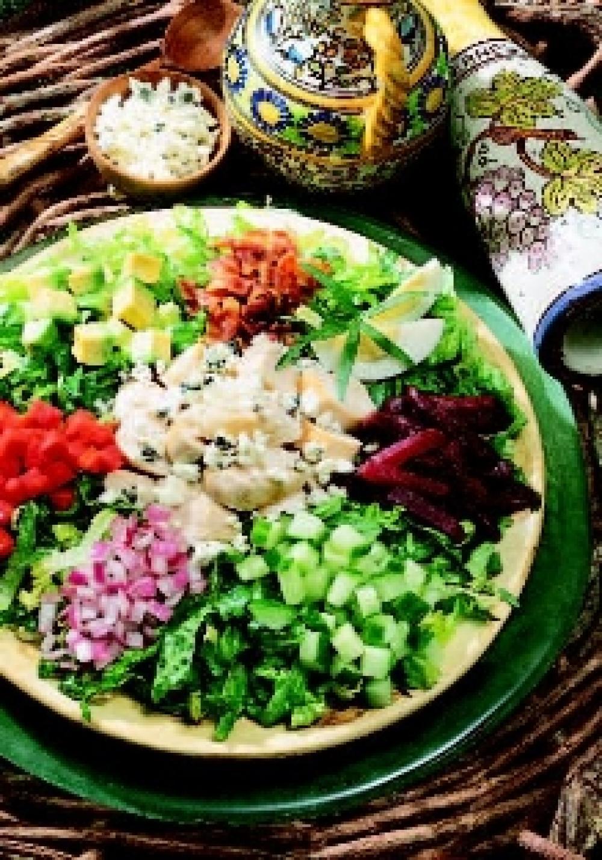 Cobb Salad with Zesty Dressing