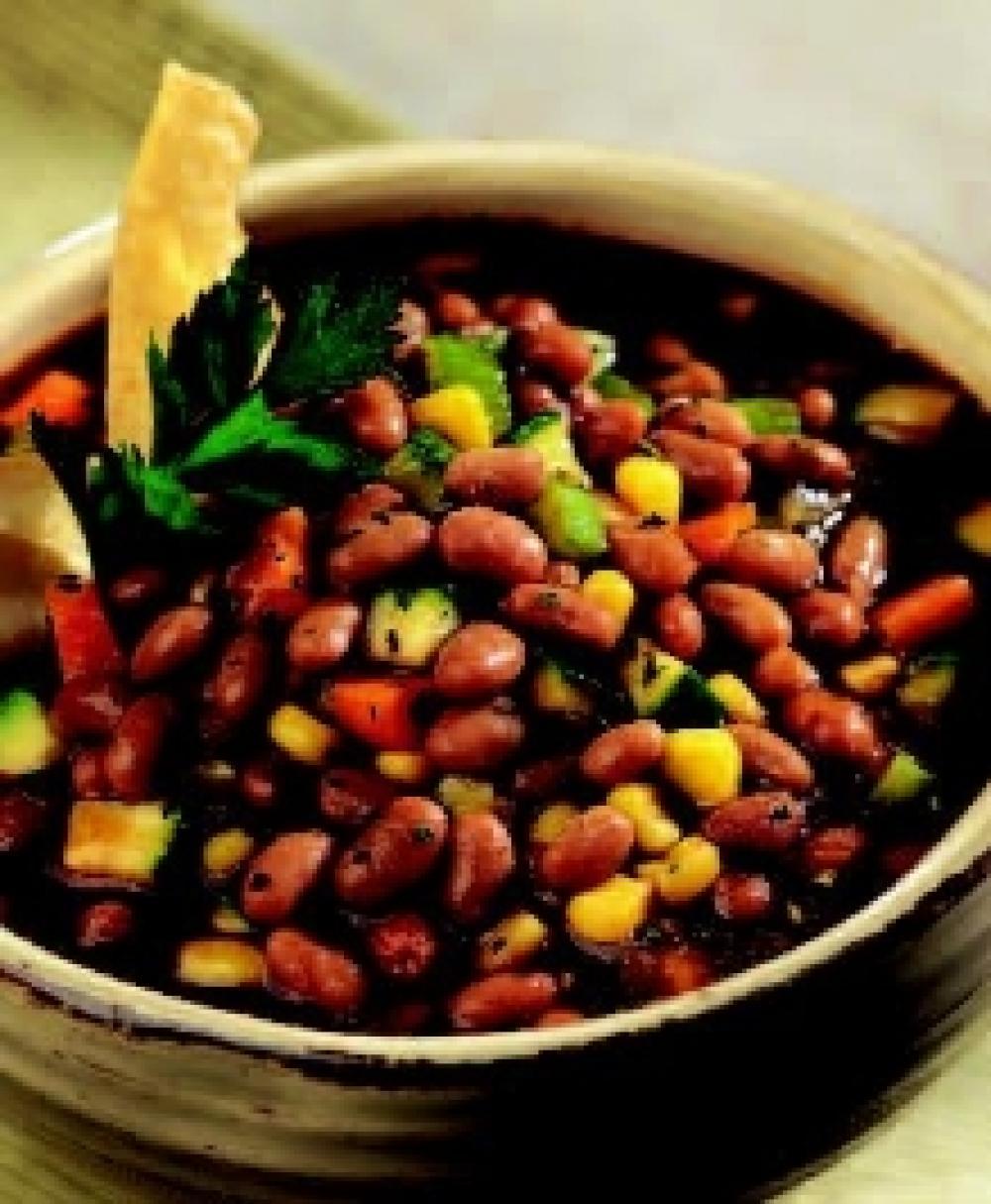 Vegetarian Herbed Bean Chili